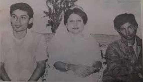 কোকো ও তারেক রহমারে সাথে খালেদা